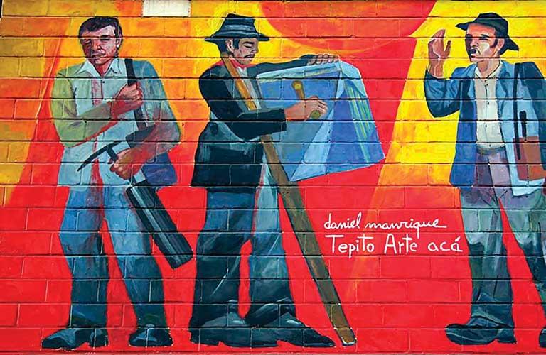 Mural Daniel Manrique Tepito