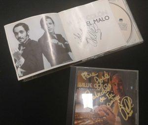 Willie Colón El Malo firmado