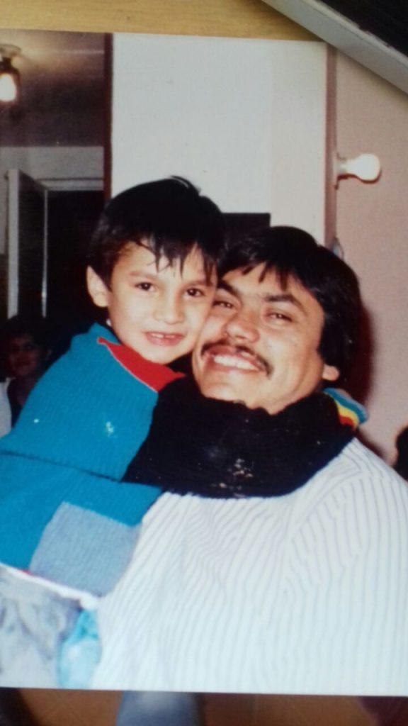 mi papa y yo