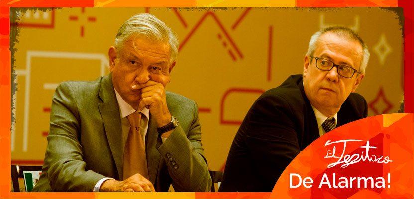 Carloz Urzúa se deslinda de los proyectos de amlo